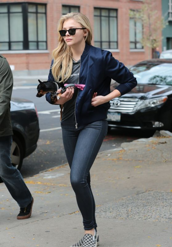 Chloe Moretz - Out in New York City, October 2015