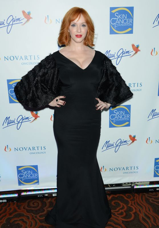 Christina Hendricks - The 2015 Skin Cancer Foundation Gala in New York City