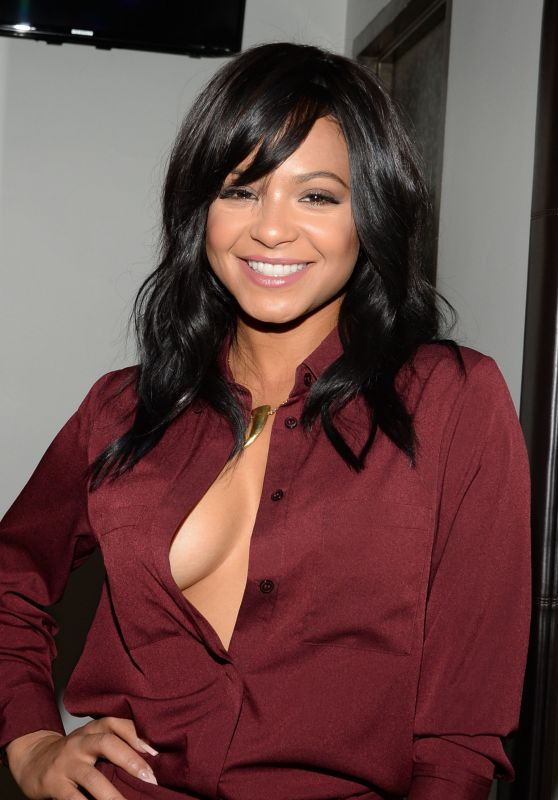 Christina Milian - Good Day New York in NYC, October 2015