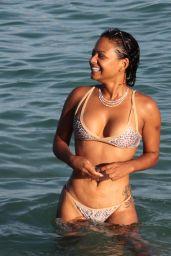 Christina Milian - Hot in Bikini in Miami, October 2015