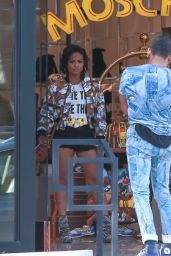 Christina Milian - Out Shopping in Los Angeles, September 2015