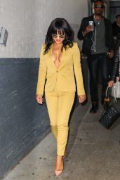 Christina Milian Style - at HuffPost Live in New York, October 2015