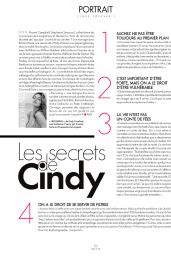 Cindy Crawford - ELLE Magazine France September 2015 Issue