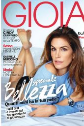 Cindy Crawford - Gioia Magazine October 2015