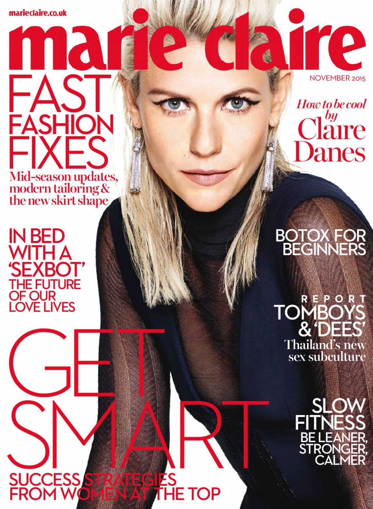 Marie Claire Magazine UK November 2015 Issue