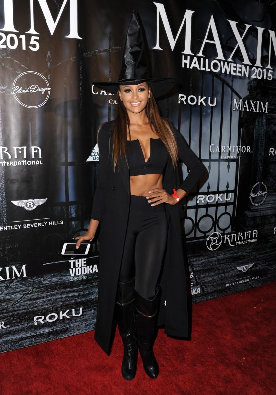 Claudia Jordan - The Official MAXIM Halloween Party in Beverly Hills, October 2015