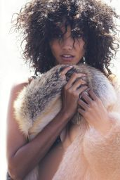 Cora Emmanuel - Photoshoot for Elle Magazine US November 2015