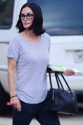 Courteney Cox - Out in LA, October 2015