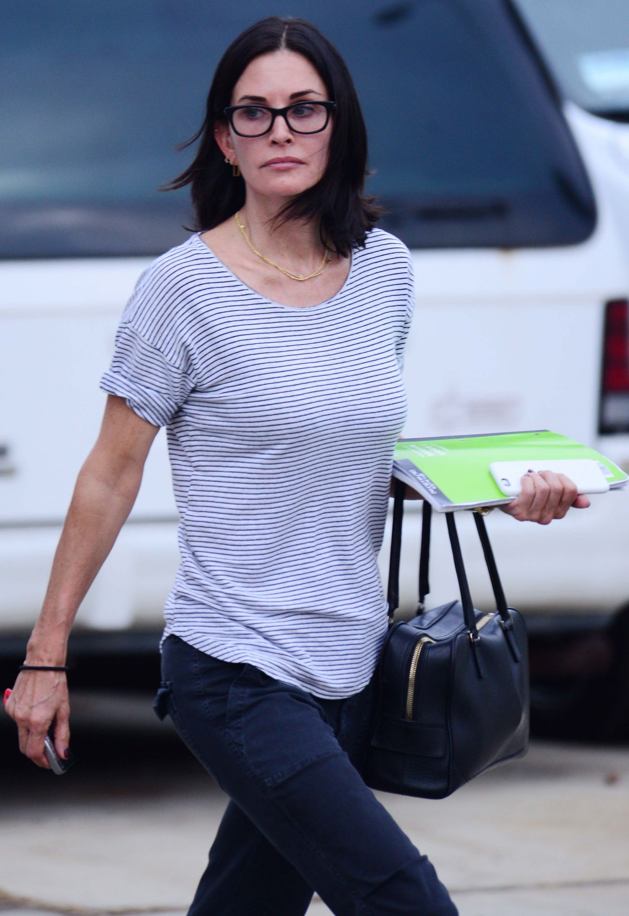 Courteney Cox Out In La October 2015