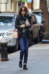Dakota Johnson Casual Style - Out in New York City, October 2015