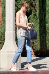 Dakota Johnson - Shopping at Erewhon Natural Foods Market, October 2015