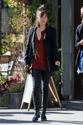 Dakota Johnson - Shopping With Her Sister in New York City, October 2015