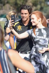 Darby Stanchfield – 2015 Veuve Clicquot Polo Classic in Pacific Palisades