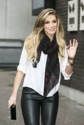 Delta Goodrem - at ITV Studios in London, October 2015