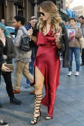 Delta Goodrem - Global Radio in London, October 2015