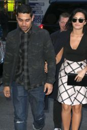 Demi Lovato - Arriving at the GMA Studios in New York City, October 2015