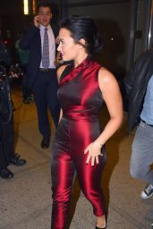 Demi Lovato - Leaving Her Hotel in New York City, October 2015