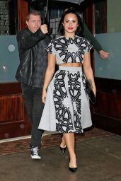 Demi Lovato - Leaving Her Htel in NYC, October 2015