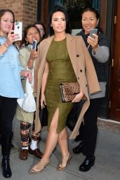 Demi Lovato Leaving the Greenwhich Hotel in New York City, October 2015