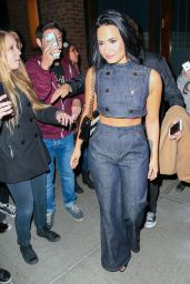 Demi Lovato Night Out - Leaving Her Hotel in NYC, October 2015