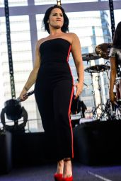 Demi Lovato - Performs at Her Vevo Private Concert in Sao Paulo, Brazil