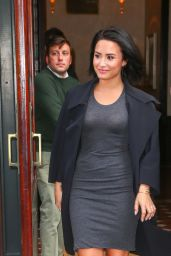 Demi Lovato Style - Leaving Her Hotel in New York City, October 2015