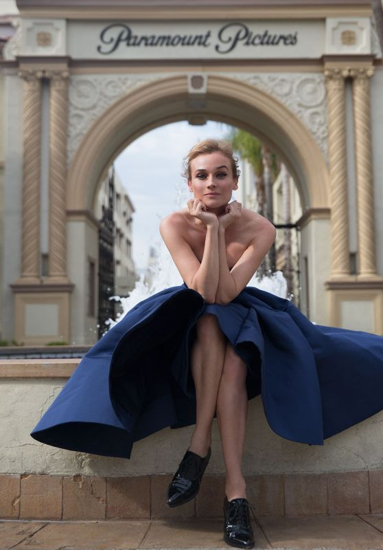 Diane Kruger - Photoshoot for Violet Grey - October 2015