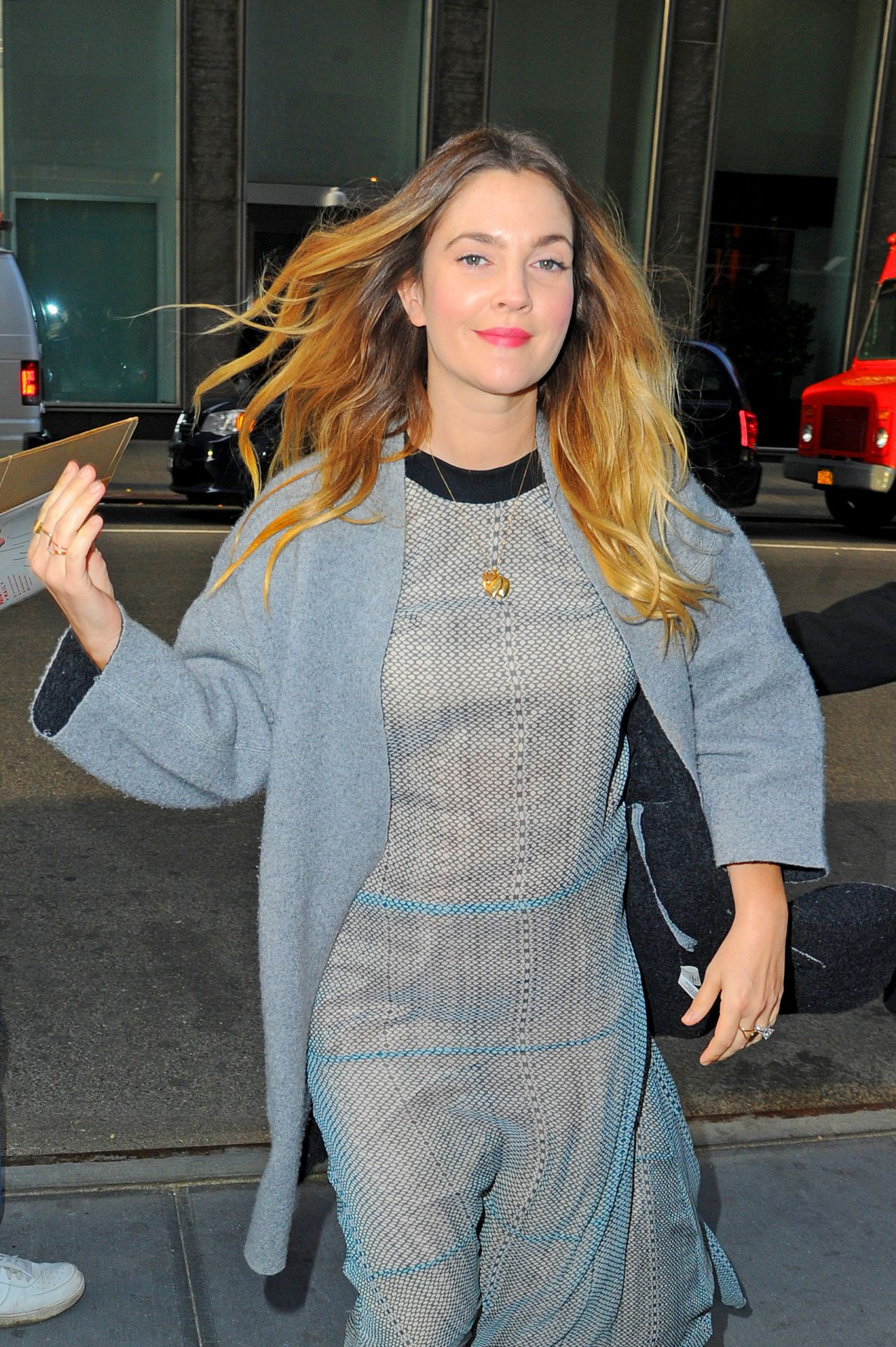 Drew Barrymore Out In Nyc October 2015