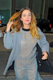 Drew Barrymore - Out in NYC, October 2015