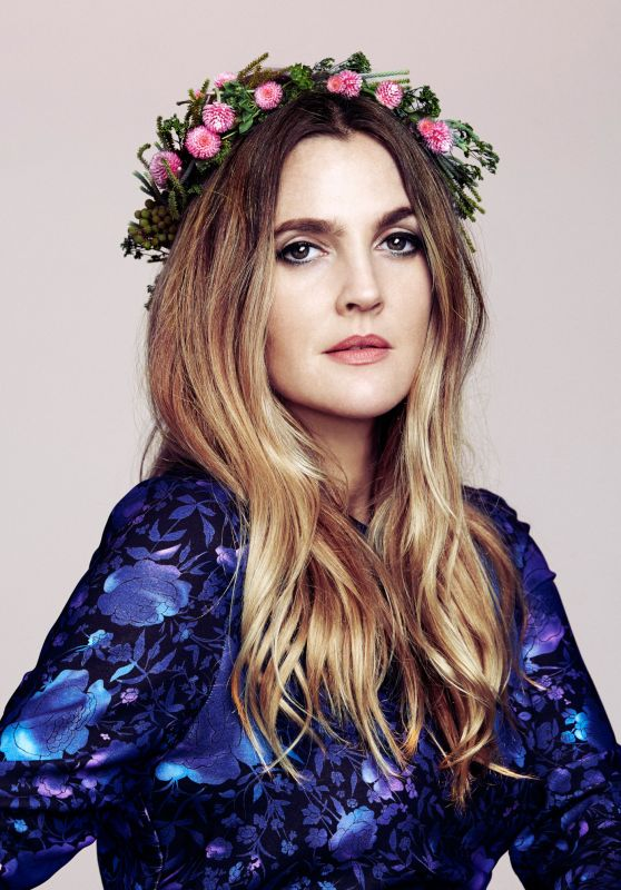 Drew Barrymore - Photoshoot for The Guardian October 2015