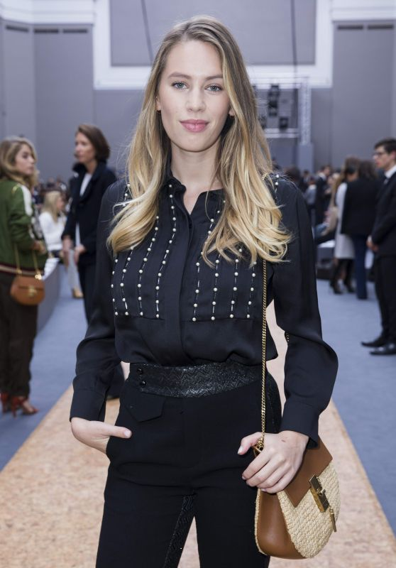 Dylan Frances Penn at the Chloé Fashion Show, October 2015