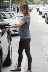 Elisabetta Canalis - Out in Los Angeles, October 2015