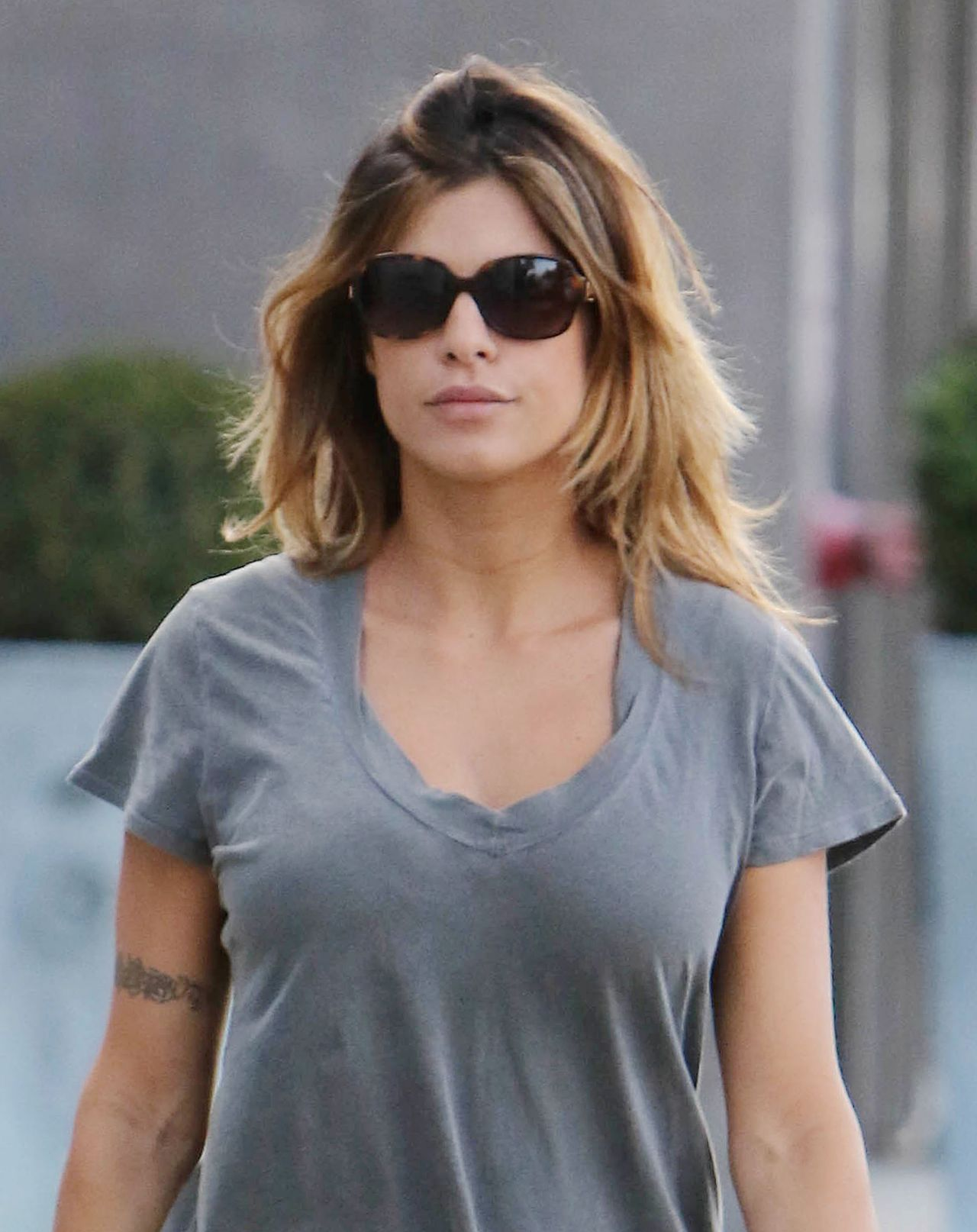 Elisabetta Canalis Out In Los Angeles October 2015