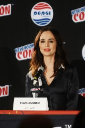 Eliza Dushku - Banshee Panel at 2015 New York Comic-Con