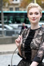 Elizabeth Debicki - Miu Miu Show in Paris, October 2015