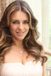 Elizabeth Hurley The Royals Press Conference In Beverly Hills