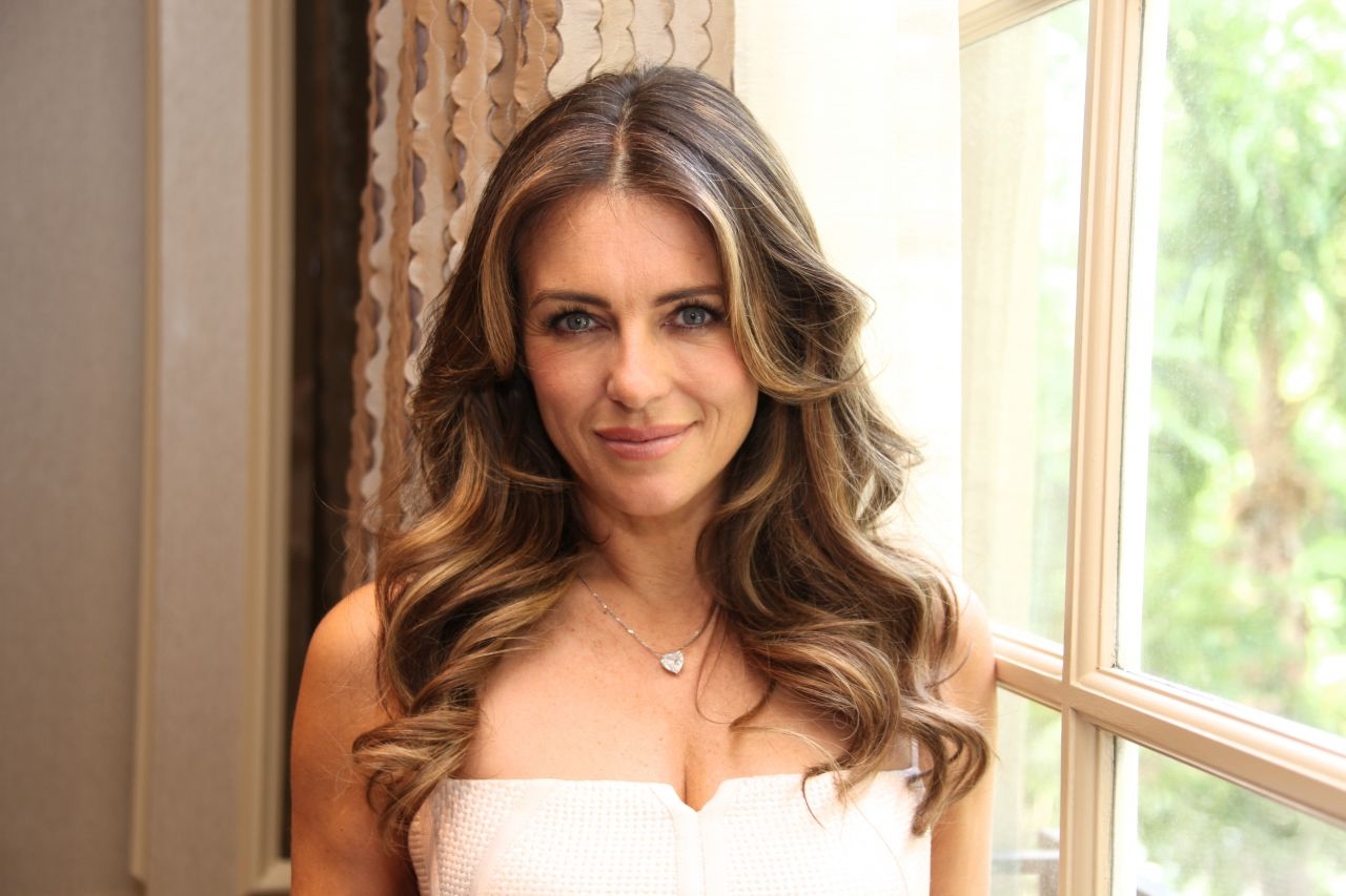 Elizabeth Hurley The Royals Press Conference In