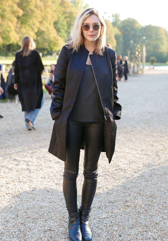Elizabeth Olsen - The Row Fashion Show at Paris Fashion Week, October 2015
