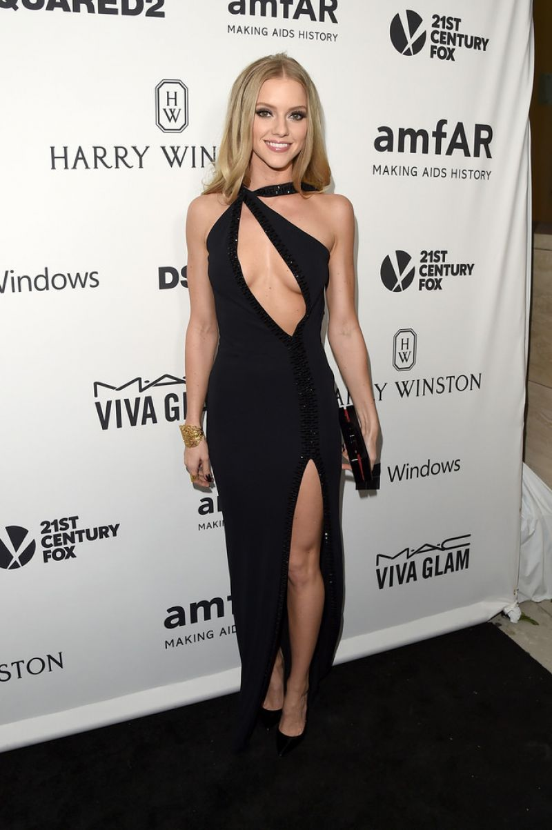 Elle Evans 2015 Amfar S Inspiration Gala Los Angeles In