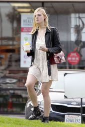 Elle Fanning - Out in Los Angeles, October 2015