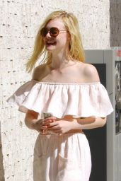 Elle Fanning Style - Out in Hollywood, October 2015