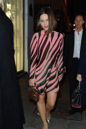 Emilia Clarke at a Colette store in Paris, October 2015