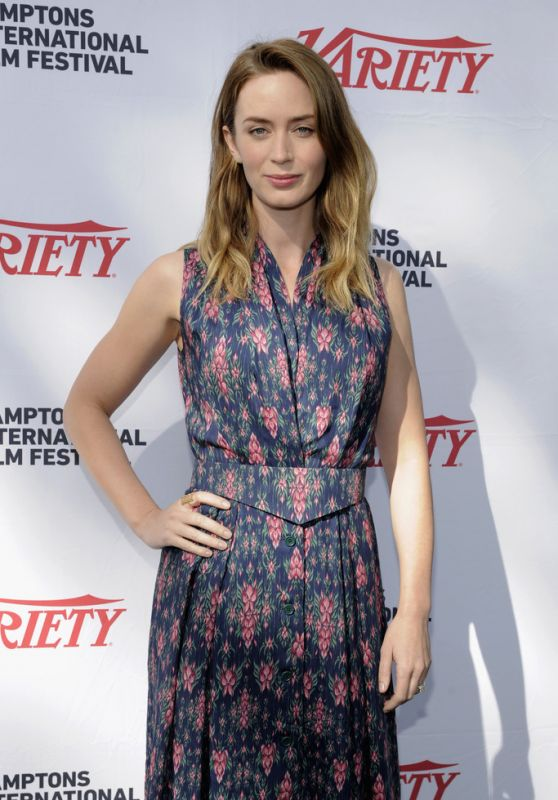 Emily Blunt - Variety 10 To Watch Mentor Brunch at the Hamptons International Film Festival