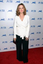 Emily Deschanel – PETA's 35th Anniversary Party in Los Angeles