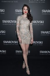 Emma Miller - Swarovski 120 X Rizzoli Exhibition and Cocktail in Paris