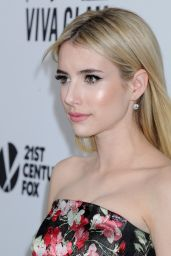 Emma Roberts – 2015 amfAR's Inspiration Gala Los Angeles in Hollywood