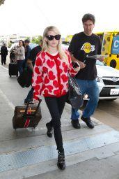Emma Roberts at LAX Airport, October 2015