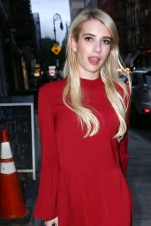 Emma Roberts - Out in NYC, October 2015
