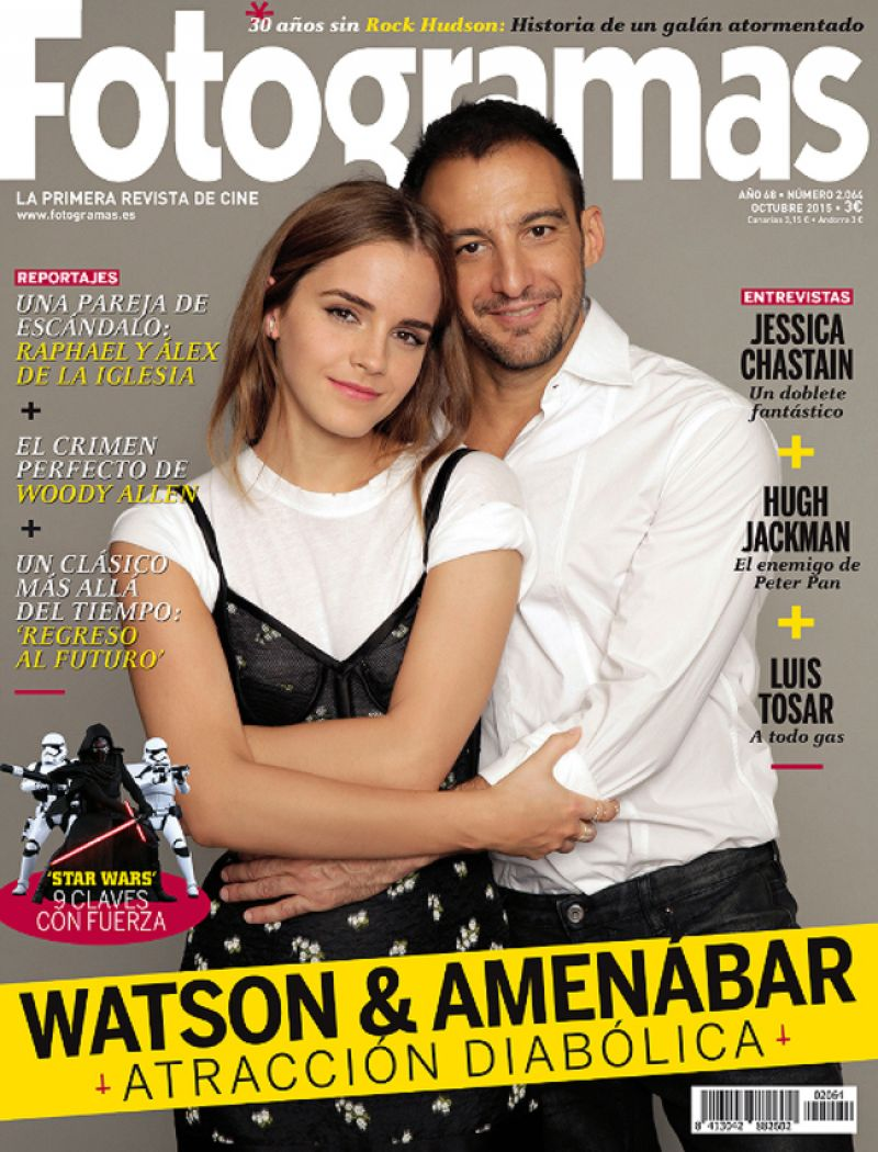 Emma Watson – Fotogramas Magazine October 2015 Cover