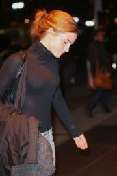 Emma Watson - Out in New York City, October 2015